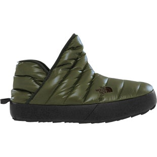North Face Thermoball Traction Bootie Slippers - Shiny Burnt Olive
