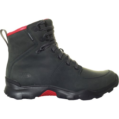 North Face Thermoball Versa Boots - Dark Shadow Grey TNF Red
