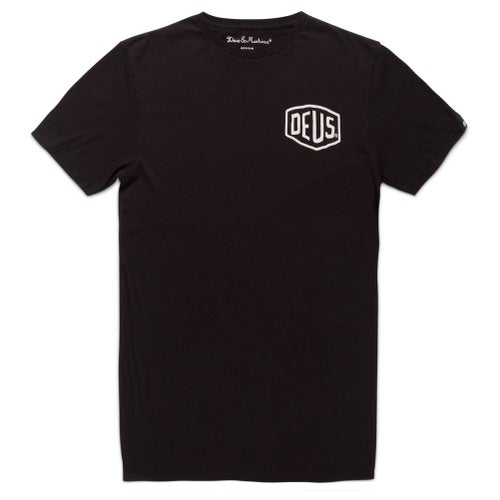 Deus Ex Machina Canggu Address T Shirt - Black