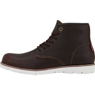 Levis Jax Clean High Boots - Dark Brown