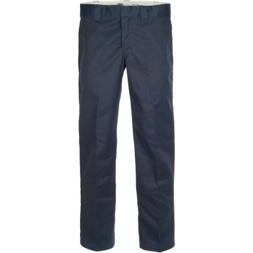 Dickies 873 Slim Straight Work Pants - Navy Blue