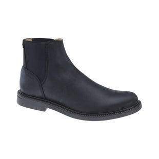 Sebago Turner Chelsea WP Boots - Black Leather