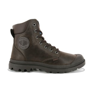 Palladium Pampa Cuff WP Lux Boots - Chocolate