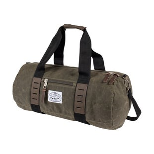 Poler Classic Carry On Duffel Luggage - Waxed Burnt Olive