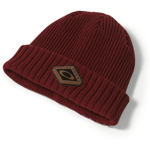 Oakley Dead Tree Cuff Beanie - Iron Red