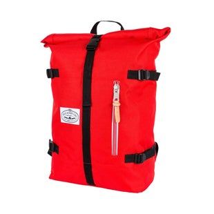 Poler Classic Rolltop Backpack - Bright Red
