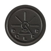 Poler Leather Coaster