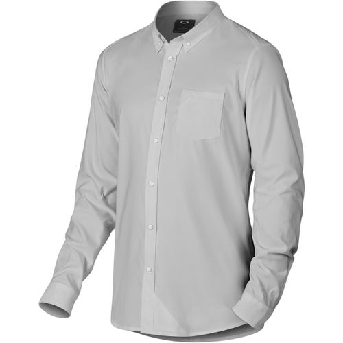 Oakley Solid Shirt - Stone Grey