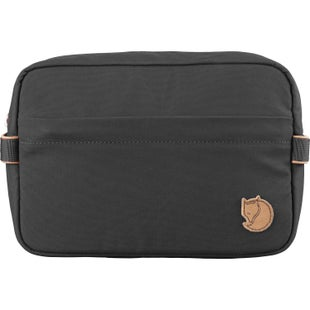 Fjallraven Travel Washbag - Dark Grey