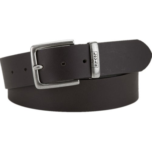 Levis New Albert Leather Belt - Dark Brown