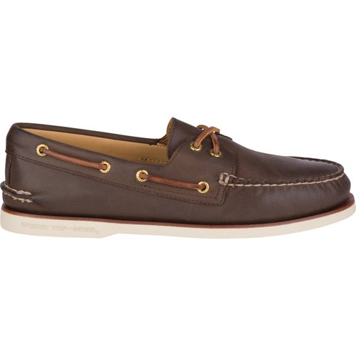 Sperry Gold Cup Authentic Original 2 Eye Slip On Shoes - Brown