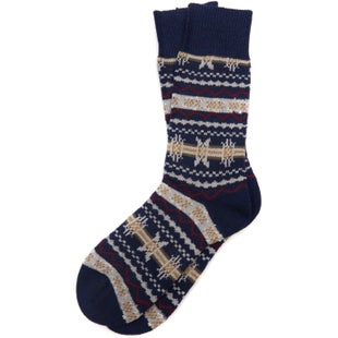 Barbour Castleside Socks - Navy