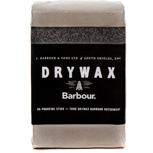 Barbour Dry Wax 60g Bar Proofing - Clear