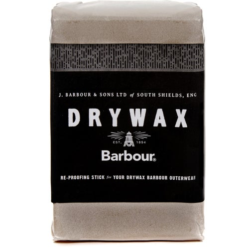 Barbour Dry Wax 60g Bar Proofing