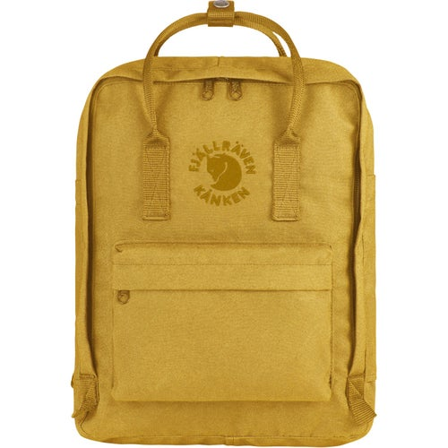 Fjallraven Re Kanken Backpack - Sunflower Yellow