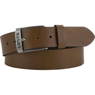 Levis New Duncan Leather Belt - Beige