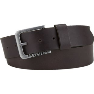 Levis New Lockwood Leather Belt - Brown