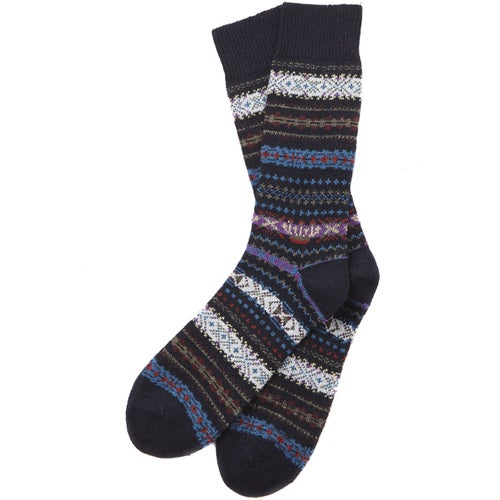 Barbour Boyd Socks - Navy Mix