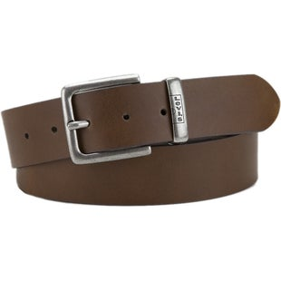 Levis New Albert Leather Belt - Beige