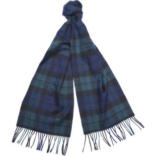 Barbour Classic Check Tartan Scarf - Black Watch