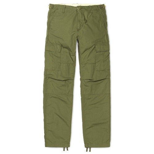 Carhartt Aviation Cargo Pants - Rover Green Rinsed