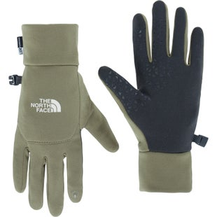 North Face Etip Ladies Gloves - Burnt Olive Green