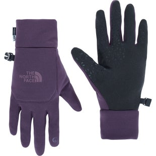 North Face Etip Ladies Gloves - Dark Eggplant Purple