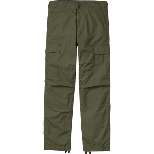 Carhartt Regular Cargo Pants - Rover Green Rinsed