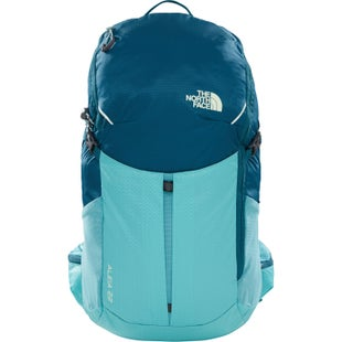North Face Aleia 22 RC Ladies Backpack - Deep Teal Blue Agate Green