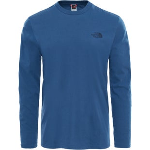 North Face Easy LS T-Shirt - Shady Blue