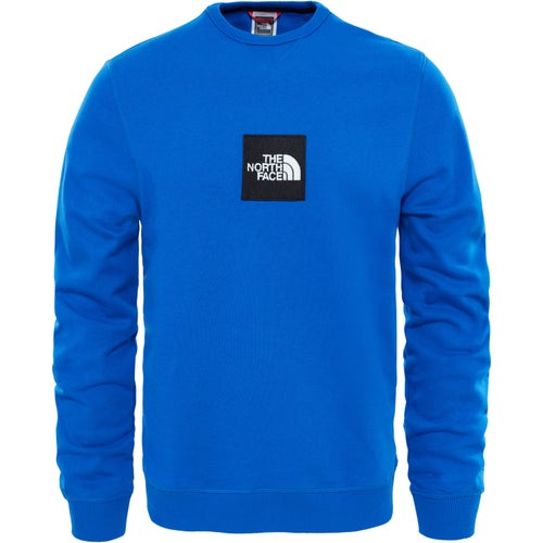 North Face Fine Crew Sweater - Bright Cobalt Blue