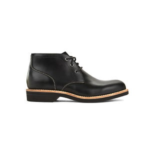 GH Bass Duxbury Chukka Leather Boots - Black Leather