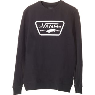 Vans Full Patch Crew Sweater - Black