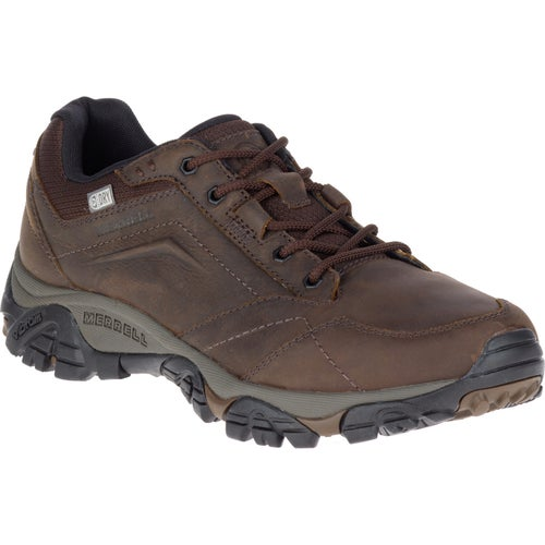 Merrell Moab Adventure Lace WTPF Shoes - Dark Earth