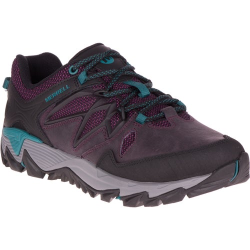 Merrell All Out Blaze 2 Ladies Hiking Shoes - Berry