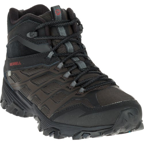 Merrell Moab FST Ice Plus Thermo Hiking Shoes - Black
