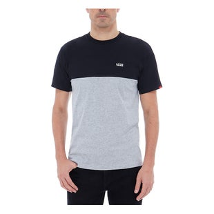 Vans Colour Block T Shirt - Black Athletic Heather