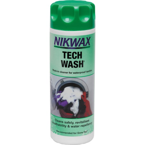 Nikwax Nik Wax Tech Fabric Wash - Clear