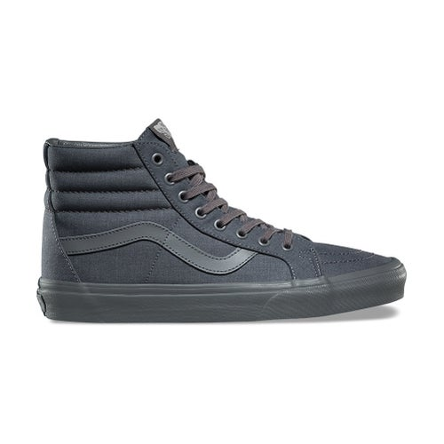 Vans Sk8 Hi Reissue Shoes - Mono Chambray Grey Grey