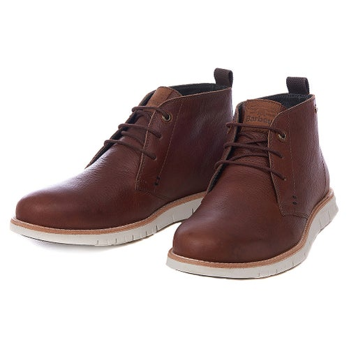 Barbour Burghley Boots - Wine