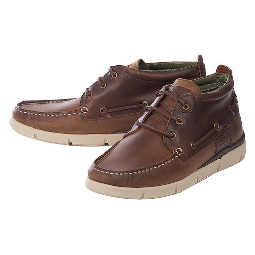 Barbour Phil Shoes - Beige Brown Leather