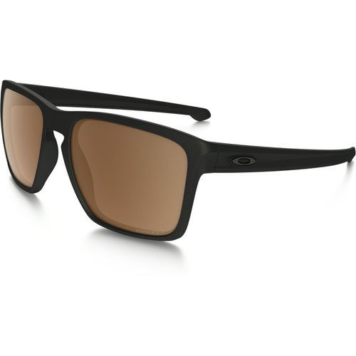 Oakley Sliver XL Polarised Sunglasses - Matte Black ~ Prizm Tungsten