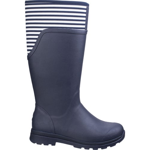 Muck Boots Cambridge Tall Ladies Wellies - Navy White