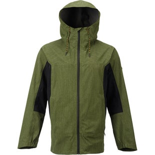 Burton Gore Packrite Jacket - Rifle Green True Black