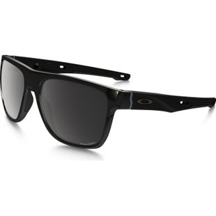 Oakley Crossrange XL Polarised Sunglasses - Polished Black ~ Prizm Black