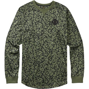 Burton Caption Crew Sweater - Rifle Green Mossglenn