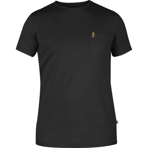 Fjallraven Ovik Pocket T Shirt - Dark Grey
