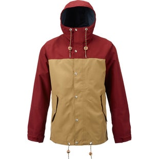 Burton Notch Jacket - Rojo Kelp