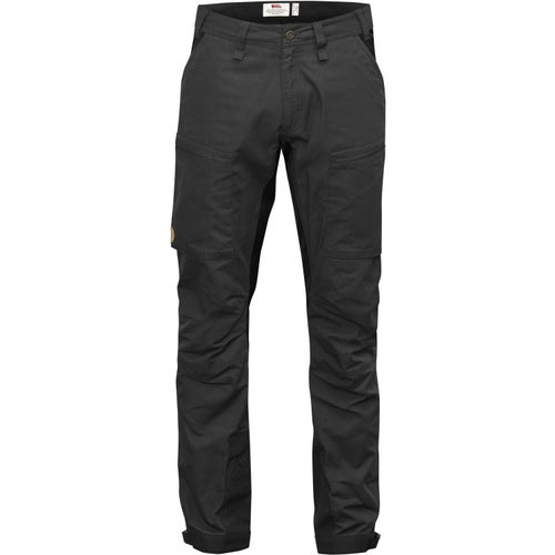 Fjallraven Abisko Lite Trekking Reg Length Walking Pants - Dark Grey
