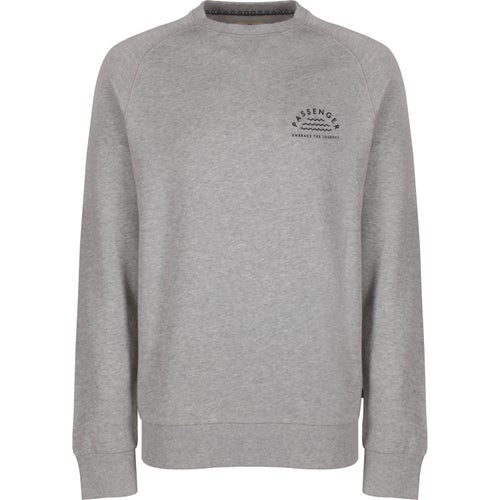 Passenger Clothing All Rights Sweater - Grey Marl